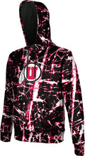 Load image into Gallery viewer, University of Utah Men's Pullover Hoodie - Distressed