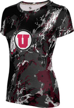University of Utah: Women's T-shirt - Marble
