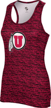 Load image into Gallery viewer, University of Utah: Women's Performance Tank - Brushed