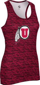 University of Utah: Women's Performance Tank - Brushed