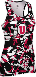 University of Utah: Women's Performance Tank - Camo