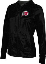 Load image into Gallery viewer, University of Utah: Women's Full Zip Hoodie - Heather