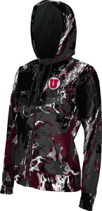 University of Utah: Women's Full Zip Hoodie - Marble