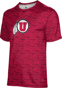 University of Utah: Boys' T-shirt - Brushed