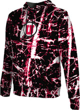 Load image into Gallery viewer, University of Utah: Boys' Pullover Hoodie - Distressed