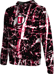 University of Utah: Boys' Pullover Hoodie - Distressed