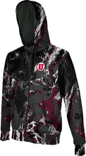 Load image into Gallery viewer, University of Utah: Boys' Full Zip Hoodie - Marble