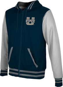 Utah State University: Men's Full Zip Hoodie - Letterman