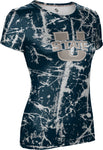 Utah State University: Women's T-shirt - Distressed