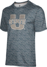 Load image into Gallery viewer, Utah State University: Men's T-shirt - Brushed