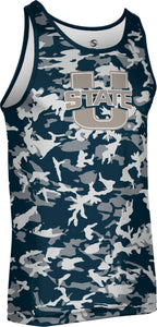 Utah State University: Men's Performance Tank - Camo