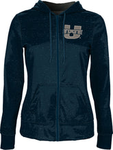 Load image into Gallery viewer, Utah State University: Girls' Full Zip Hoodie - Heather