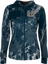 Load image into Gallery viewer, Utah State University: Girls' Full Zip Hoodie - Marble