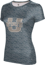 Load image into Gallery viewer, Utah State University: Girls' T-shirt - Brushed