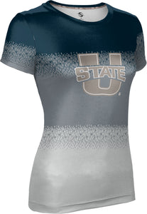 Utah State University: Girls' T-shirt - Drip