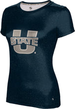 Load image into Gallery viewer, Utah State University: Girls' T-shirt - Heathered
