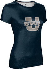 Load image into Gallery viewer, Utah State University: Women's T-shirt - Heathered