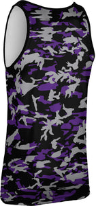 Weber State University: Men's Performance Tank - Camo