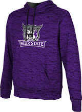 Load image into Gallery viewer, Weber State University: Men's Pullover Hoodie - Brushed