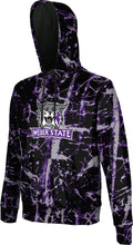 Load image into Gallery viewer, Weber State University: Men's Pullover Hoodie - Distressed