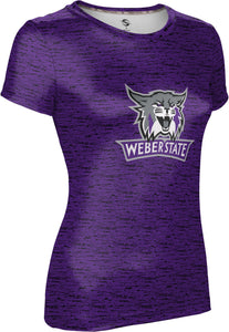 Weber State University: Women's T-shirt - Brushed