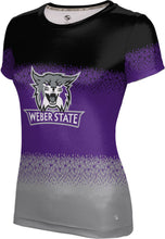 Load image into Gallery viewer, Weber State University: Women's T-shirt - Drip