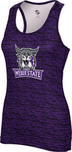 Load image into Gallery viewer, Weber State University: Women's Performance Tank - Brushed