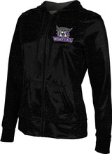 Load image into Gallery viewer, Weber State University: Women's Full Zip Hoodie - Heather
