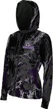 Load image into Gallery viewer, Weber State University: Women's Full Zip Hoodie - Marble