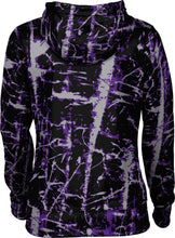 Load image into Gallery viewer, Weber State University: Women's Full Zip Hoodie - Distressed