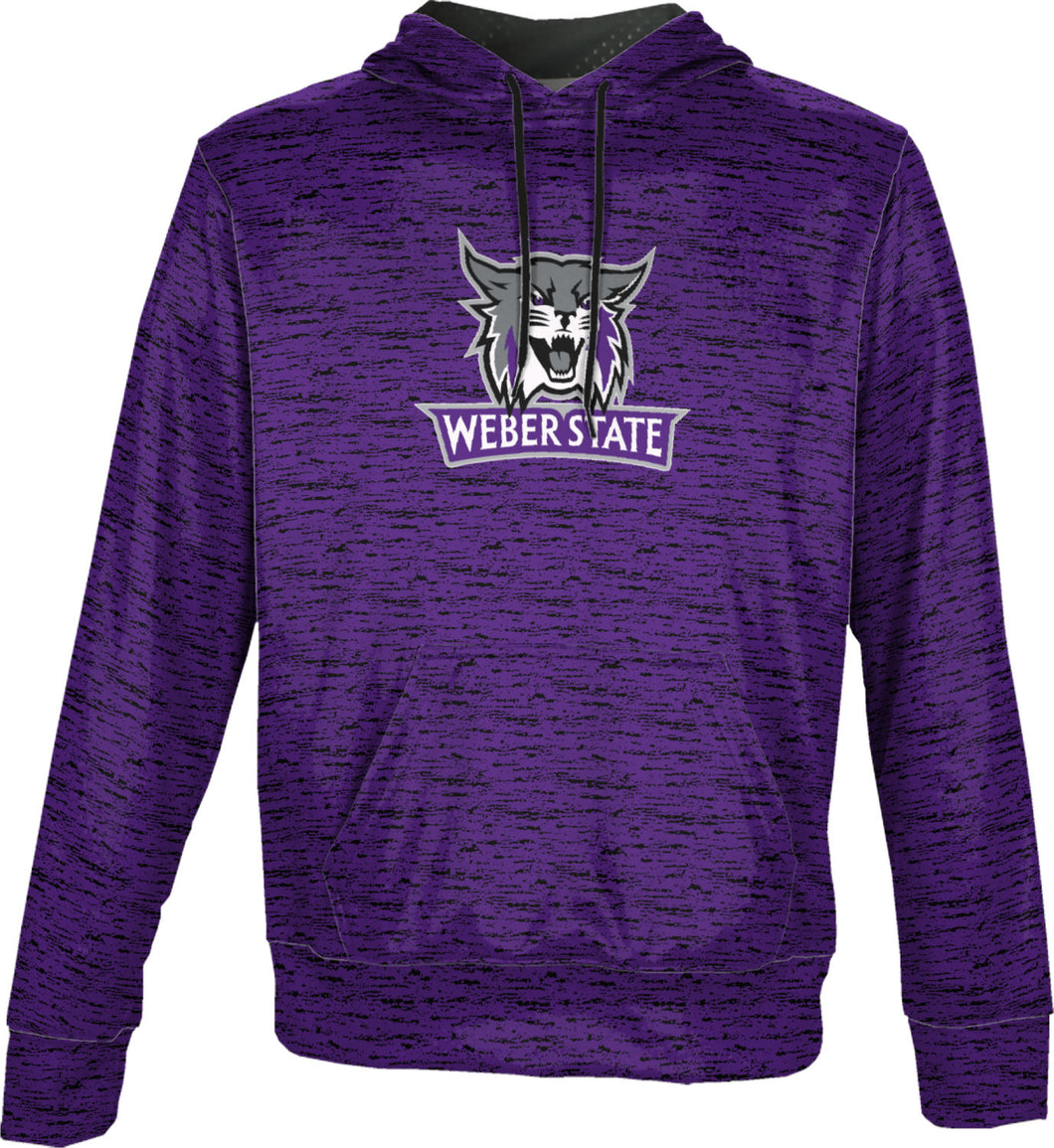 Weber State University: Boys' Pullover Hoodie - Brushed