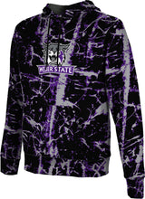 Load image into Gallery viewer, Weber State University: Boys' Pullover Hoodie - Distressed
