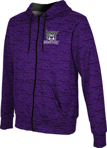 Weber State University: Boys' Full Zip Hoodie - Brushed