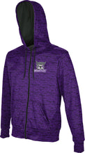 Load image into Gallery viewer, Weber State University: Boys' Full Zip Hoodie - Brushed