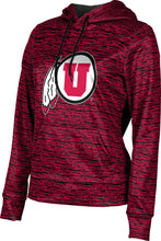 Load image into Gallery viewer, University of Utah: Women's Pullover Hoodie - Brushed