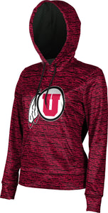 University of Utah: Girls' Pullover Hoodie - Brushed