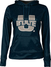 Load image into Gallery viewer, Utah State University: Women's Pullover Hoodie - Heathered