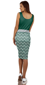 Utah Valley University: Women's Dress - Chevron