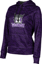 Load image into Gallery viewer, Weber State University: Women's Pullover Hoodie - Brushed