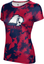 Load image into Gallery viewer, Dixie State University: Women's T-shirt - Grunge