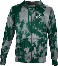 Load image into Gallery viewer, Utah Valley University: Men's Full Zip Hoodie - Grunge