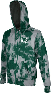 Utah Valley University: Boys' Full Zip Hoodie - Grunge