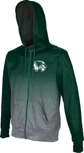 Utah Valley University: Boys' Full Zip Hoodie - Ombre