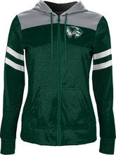 Load image into Gallery viewer, Utah Valley University: Women's Full Zip Hoodie - Game Day