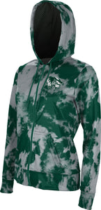 Utah Valley University: Women's Full Zip Hoodie - Grunge