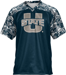 Utah State University: Men's Football Fan Jersey - Digital