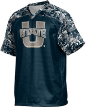 Load image into Gallery viewer, Utah State University: Men's Football Fan Jersey - Digital