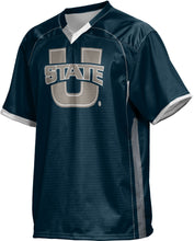 Load image into Gallery viewer, Utah State University: Men's Football Fan Jersey - No Huddle