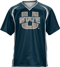 Load image into Gallery viewer, Utah State University: Men's Football Fan Jersey - Wild Horse