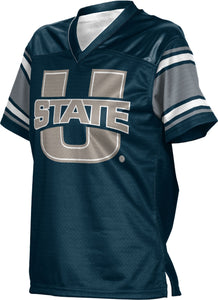 Utah State University: Girls' Football Fan Jersey - End Zone